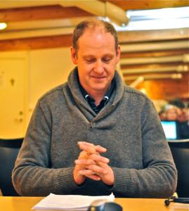 En fokusert formann Sveinung Oftedal