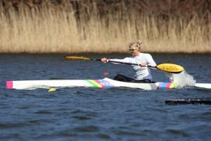 Agnes Brun Lie - Copenhagen spring regatta 2013