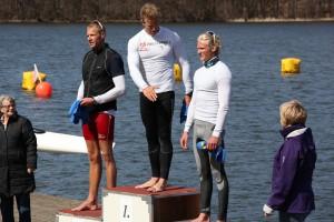Eivind Vold - 3. plass på K1 1000m