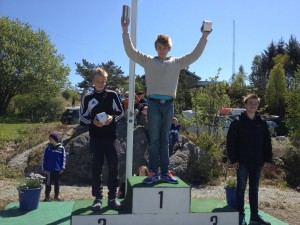Jon Amund Vold og Marcus Wang ble nr 1 og 2 på 3000m i ungdomsklassen