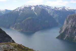 Utsikt mot Nærøyfjorden