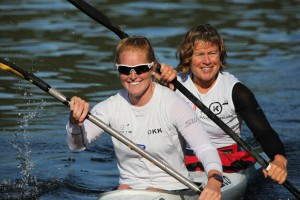 Louise Leren Moen og Kari Ofstad - 3 gull i K2