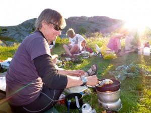 En av OKKs gourmet-kokker…. Anett Brohmann