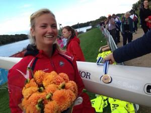 Agnes Brun-Lie nr 3 i maraton VM