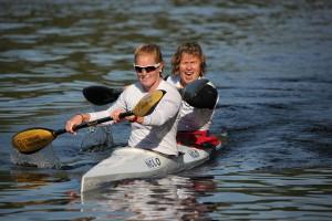 Louise Leren Moen og Kari Ofstad - 3 gull i NM i 2013