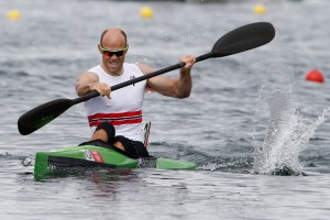 Eirik padler til gull i OL i London 2012