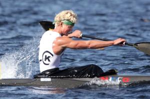 Eivind padler inn til seier på 5000m. Lars Hjemdal tok Bronse