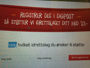 Digipost er inn!!