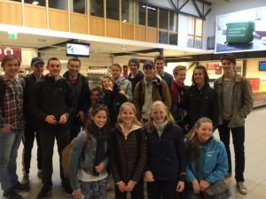 OKKs juniorer - avreise til Sevilla 22. mars 2015