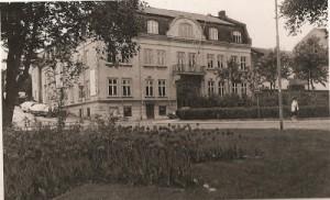 Stadshotellet i Strømstad - fra glansdagene. Bygget i 1877 - revet i 1985