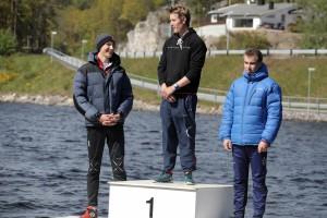 Mr1 Magnus Ivarsen. Nr 2 Jon Amund Vold (OKK) og Nr. 3 Mathias Svoren