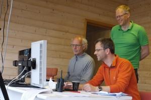 Jørgen Skabo, Jostein Sund Jensen, Morten Groven i måltårnet