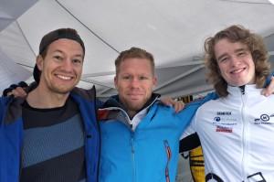 Trenertrio - Eivind Moer, Kristian Strand Luhr, Vegard Bull Jenssen