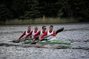 Norges K4 -Nr 7 på 1000m Foto: Christin Aronsen