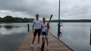 Eivind Vold og Jochen Kaiser (204cm!)