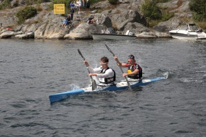 Raskeste K2 var Marius Halvorsen (OKK) og Sindre Berg (Strand)