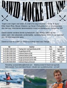 Invitasjon kurs Dawid Mocke