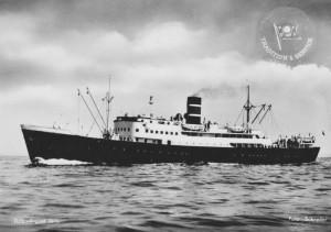 Hurtigruta SS Sigurd Jarl gikk i rute i 1947