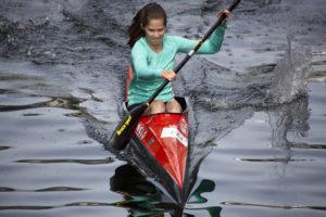 Noor Ingrid Selvik (OKK) - yngste deltaker i dameklassen
