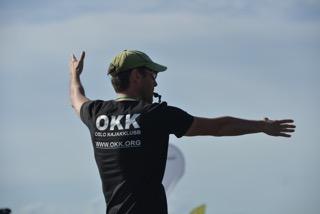 Oppmann Kajakkpolo Attilio, OKK, i dommerrollen