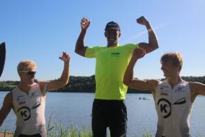 Pallen K1 200m senior herrer Foto: Reidun Erland