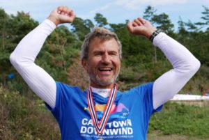 Einar Kjerschow til topps! Foto: Christin Aronsen