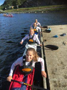 Ungdomsjentene ble Norgesmestre! Noor Ingrid Selvik, Victoria Wang, Ingrid Fürst og Tuva Overein Lunde.